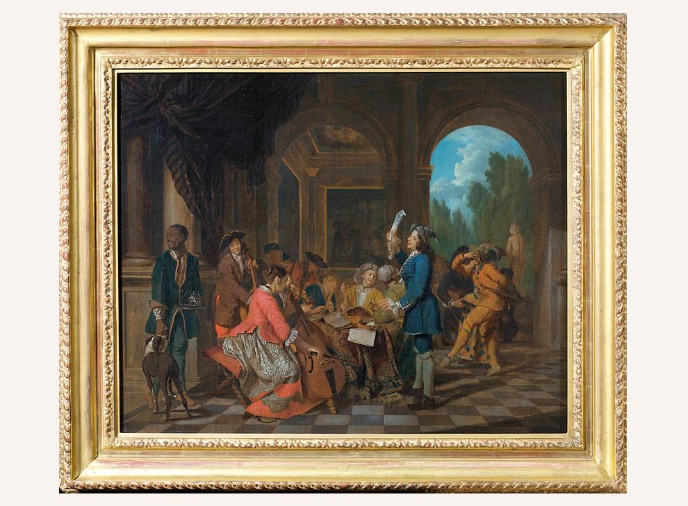 Ralph gierhards gem lde alter meister 17 jahrhundert for Horemans interieur