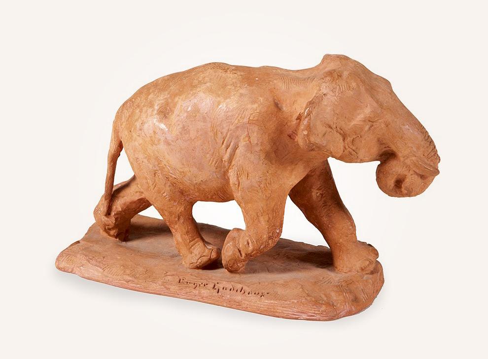 Schreitender Elephant