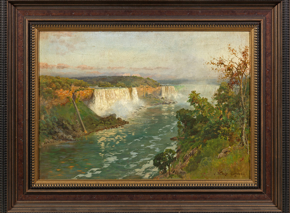 Morgenstimmung an den Niagarafällen