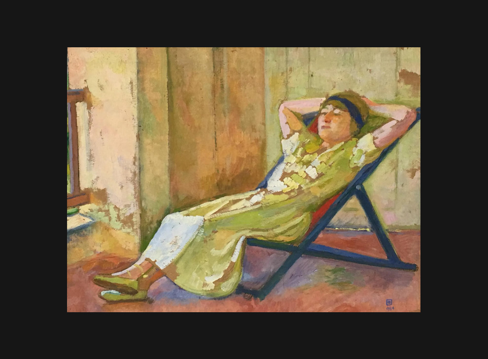 Theo Van Reysselberghe (Gent 1862 – 1926 St-Clair)