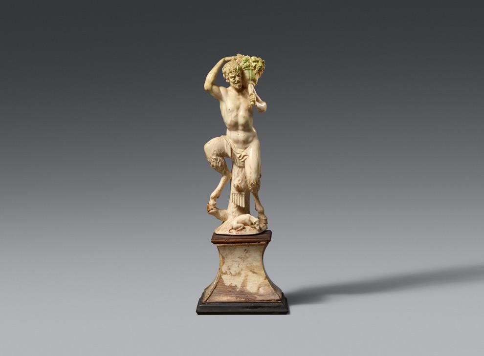 """Skulptur """"Satyr"""""""