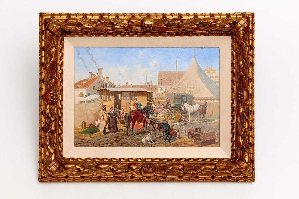 Franz Quaglio (Munich 1844 – Wasserburg à l'auberge 1920)