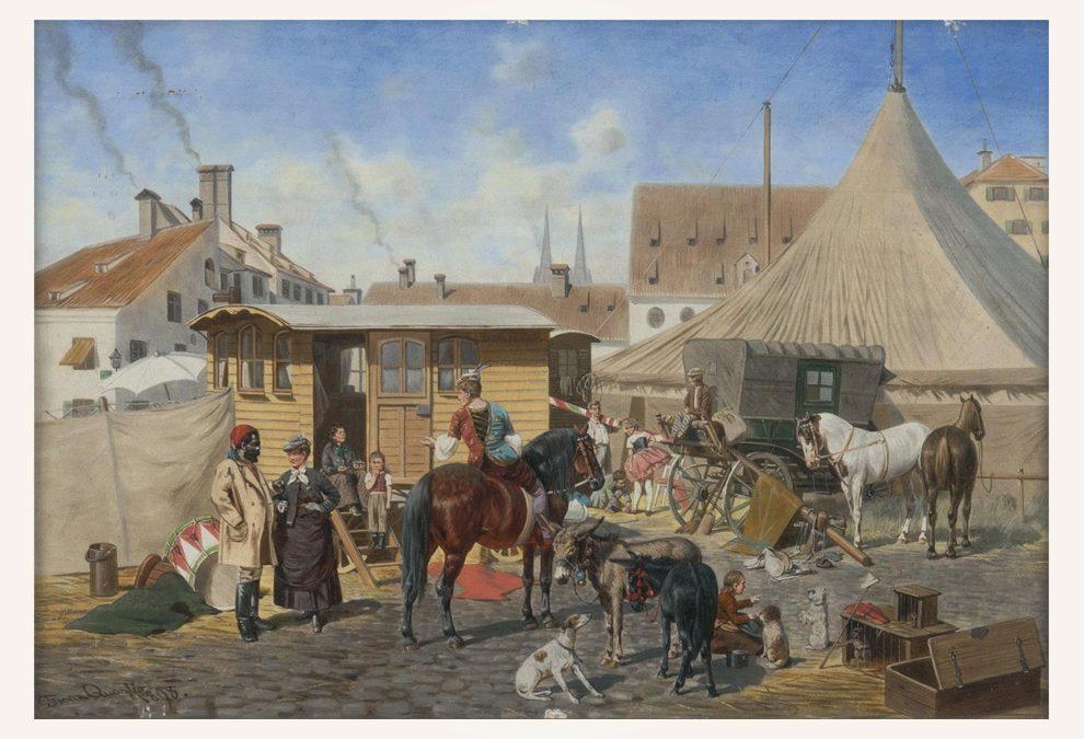 Franz Quaglio (Munich 1844 – Wasserburg on the Inn 1920)