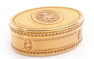 Gold Tabatiere