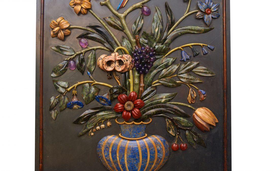 Eine Pietra-Dura-Tafel