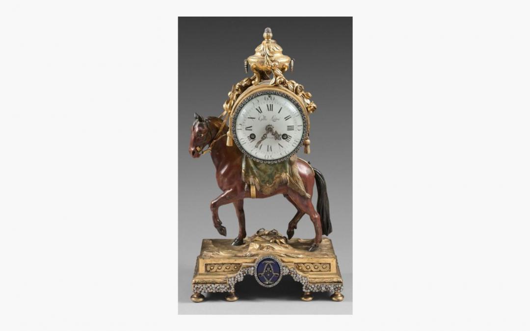 Pendule Royale – «Pendule le temps qui marche»