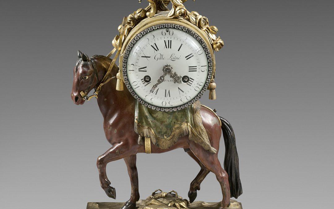 """Pendule Royale – """"Pendule le temps qui marche"""""""