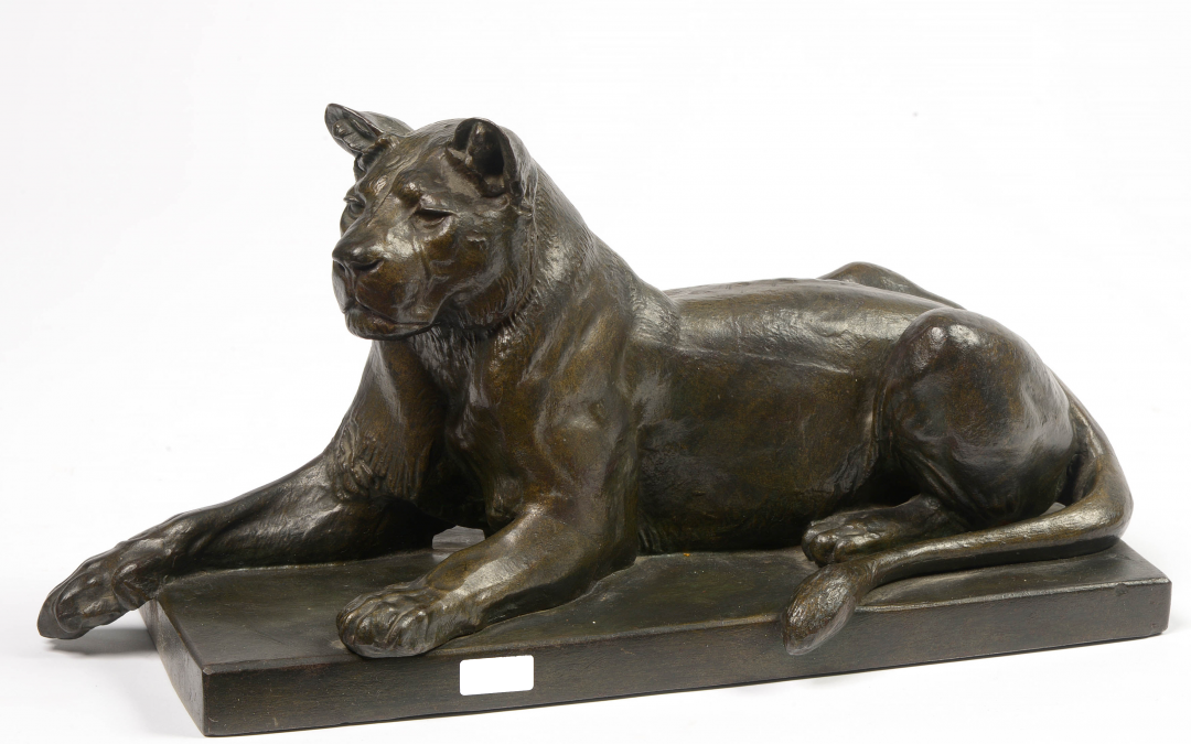 «Lionne couchée»