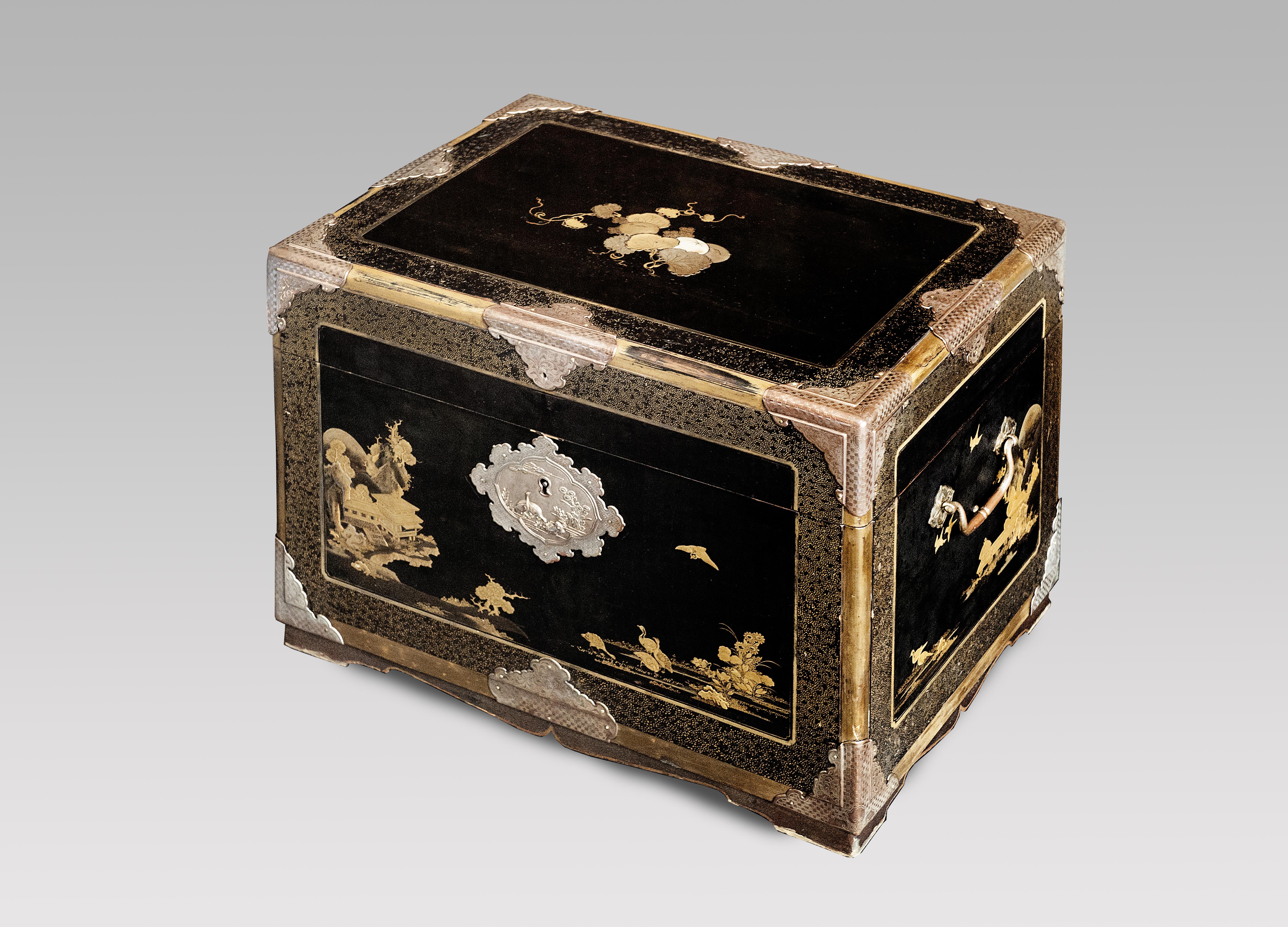 Japanese Lacquer Casket